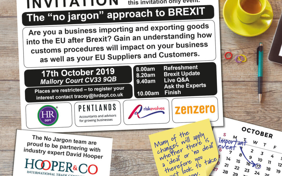 Invitation to the 'No Jargon' Approach to BREXIT
