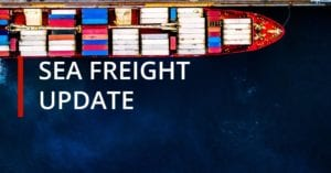 Sea Freight Update