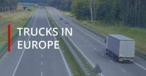 Trucks in Europe